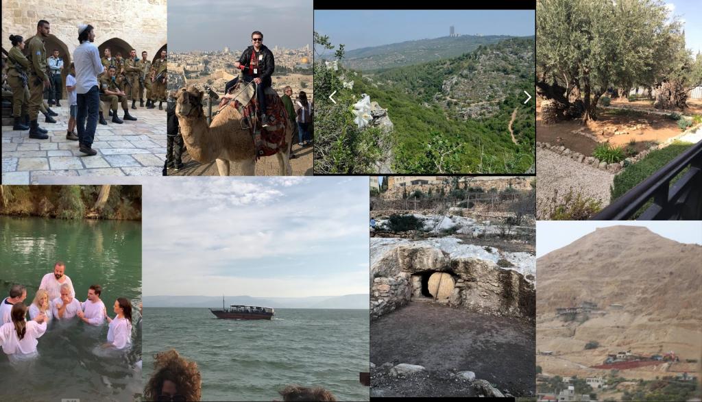 Karen Peck and New River in Israel 2018