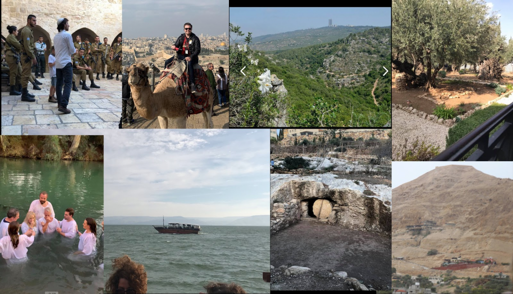 Karen Peck and New River in Israel 2018
