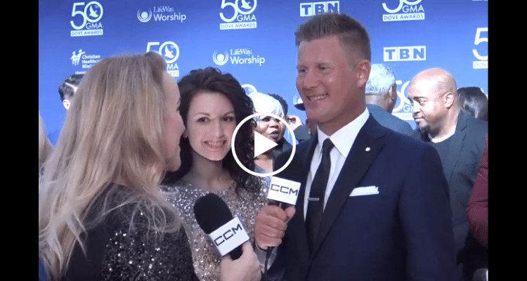 Joseph Habedank at 2019 GMA Dove Awards