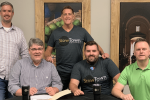 The Steeles sign with StowTown Records