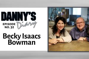 Becky Isaacs Bowman and Danny Jones